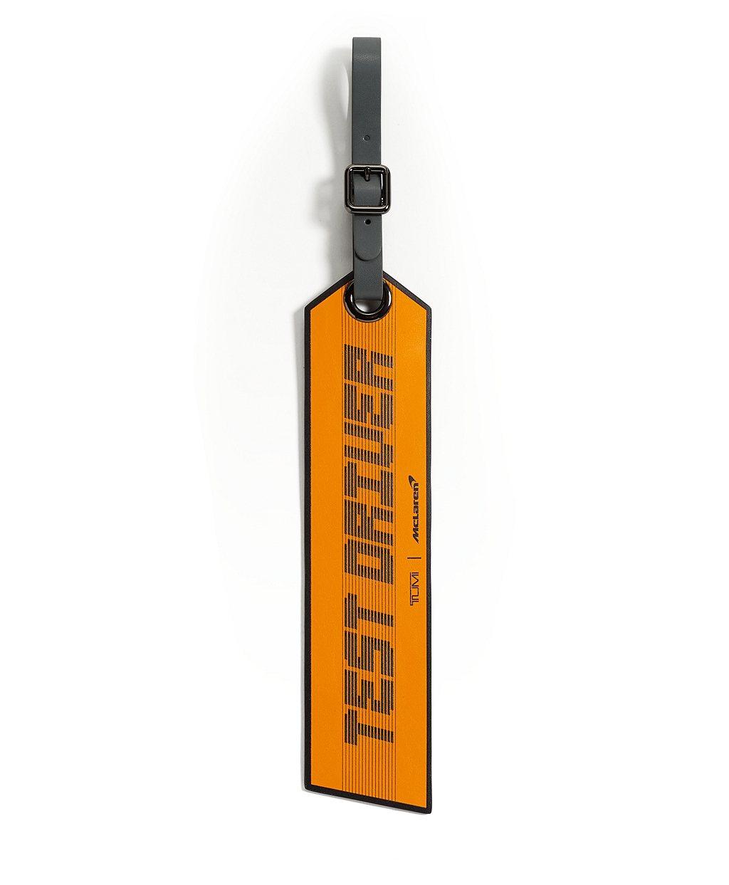 NIVOLET旅行箱吊牌-黑色NT3,500。 圖/TUMI提供