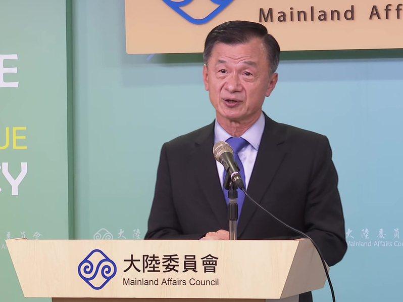 陸委會新任主委邱太三。 聯合報系資料照片