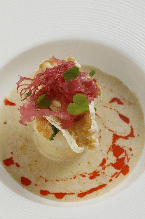 干貝・淡菜・牡蠣。圖/JE Kitchen提供