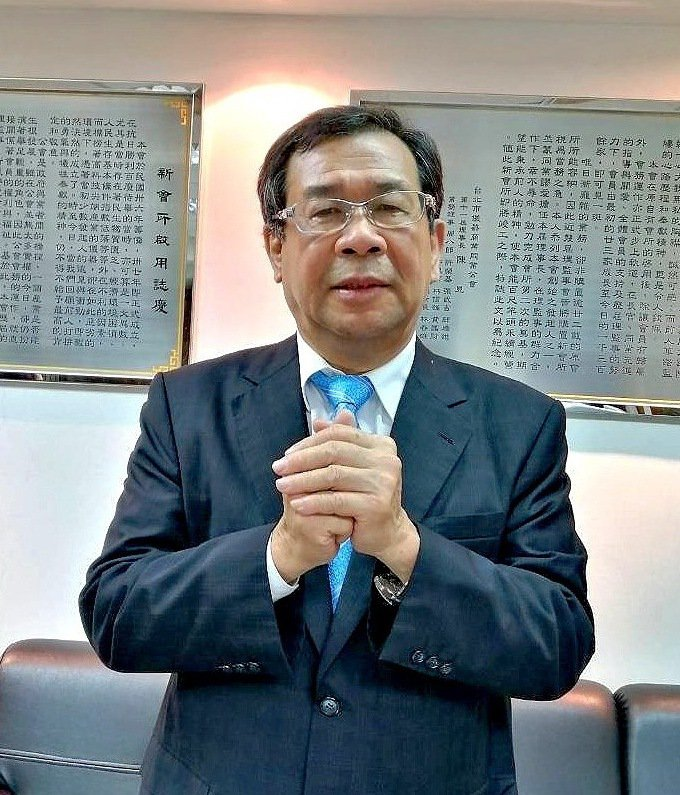 台北市儀器商業同業公會理事長賴奇南。 台北市儀器公會/提供