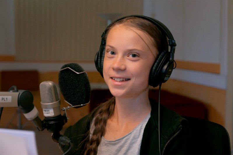 瑞典環保少女童貝里。 美聯社