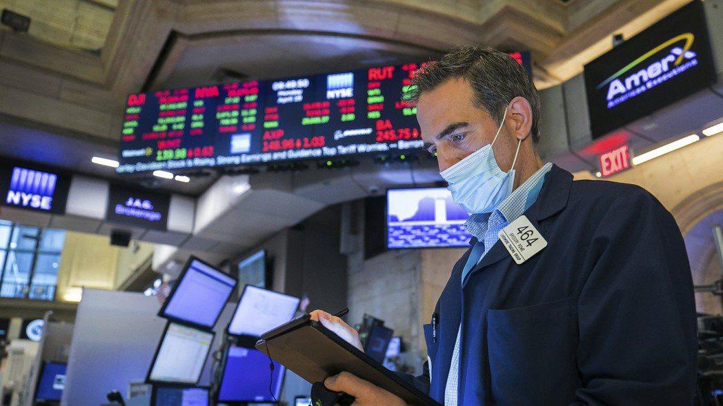 投資人大多認為,美股略事休整是健康的。美聯社