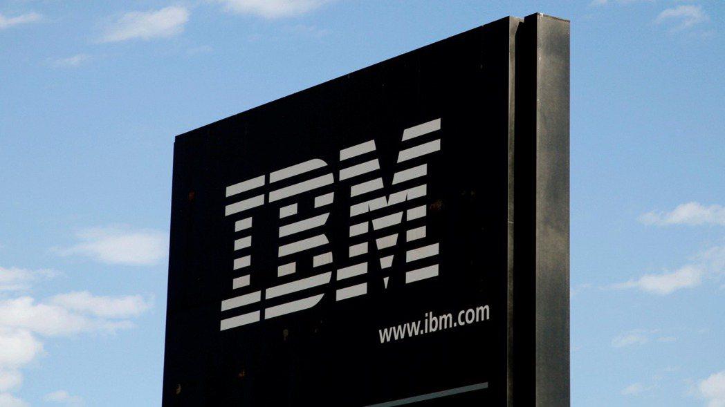 IBM第1季營收成長為11季來最強勁。(路透)