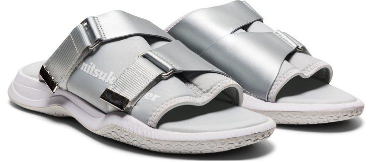 Onitsuka Tiger OHBORI SLIDER拖鞋3,280元。圖/O...