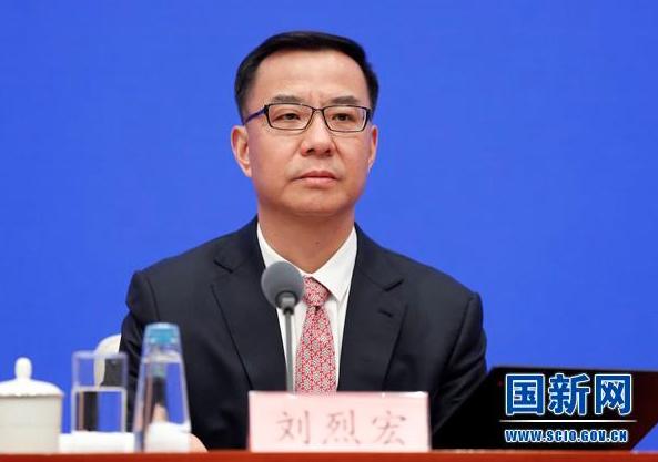 大陸工信部副部長劉烈宏表示,大陸已初步建成全球最大規模的5G移動網路。(國新網)