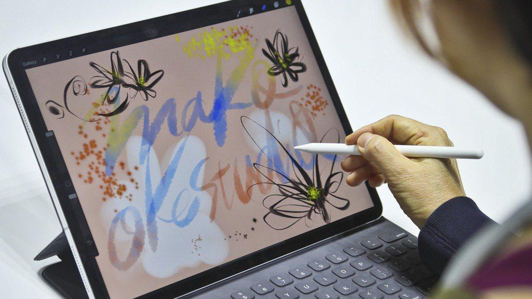 蘋果推出新款iPad Pro。美聯社
