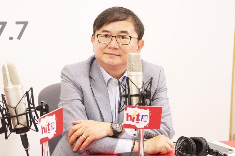 台東選出的民進黨立委劉櫂豪表示,將用成績論斷王國材的表現。他也說,現在上任交通部長沒有蜜月期。圖/Hit Fm「嗆新聞」提供