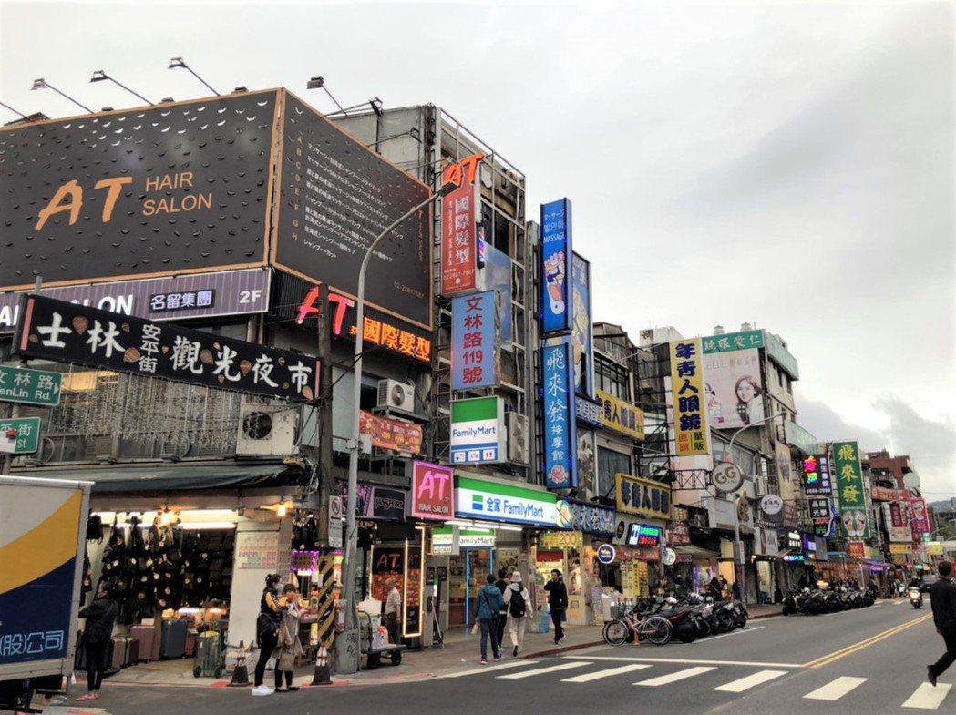 士林夜市周邊建設題材多,周邊房價漲幅為六都夜市宅之冠。圖/台灣房屋