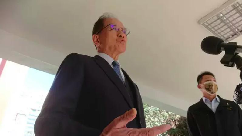 立法院長游錫堃。記者周志豪/攝影