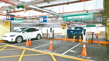 北市十座停車場率先實施差別費率 6月起電動車停放將多收費