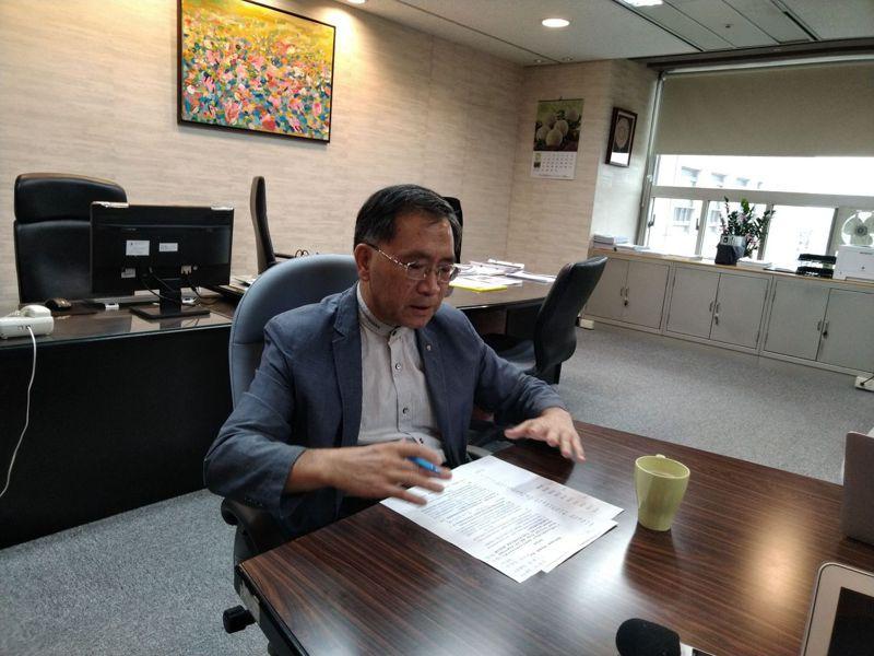 對於請辭傳聞,蔡炳坤今受訪時,並沒有否認,不過蔡也說,他仍會一本初衷,盡力而為。記者林麗玉/攝影