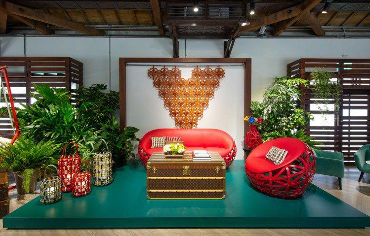 路易威登Objects Nomades貴賓預約展自即日起到4月28日在台北登場。...