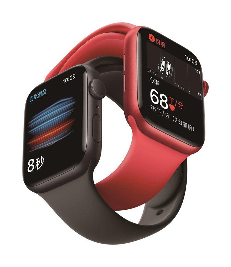 iStore Apple Watch Series 6,推薦價13,900元。圖...