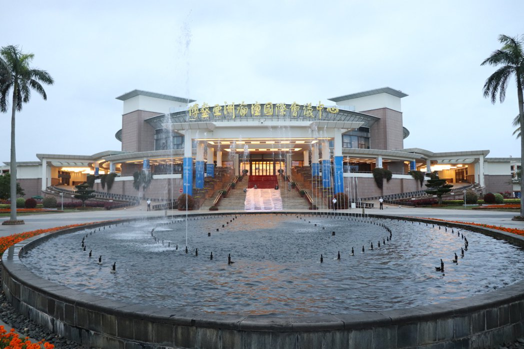 博鰲亞洲論壇2021年年會正在舉行。記者呂佳蓉/攝影