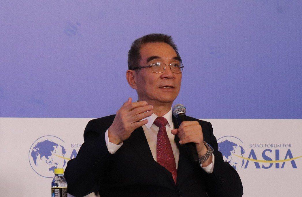 北京大學國家發展研究院名譽院長、新結構經濟學研究院院長林毅夫。記者呂佳蓉/攝影