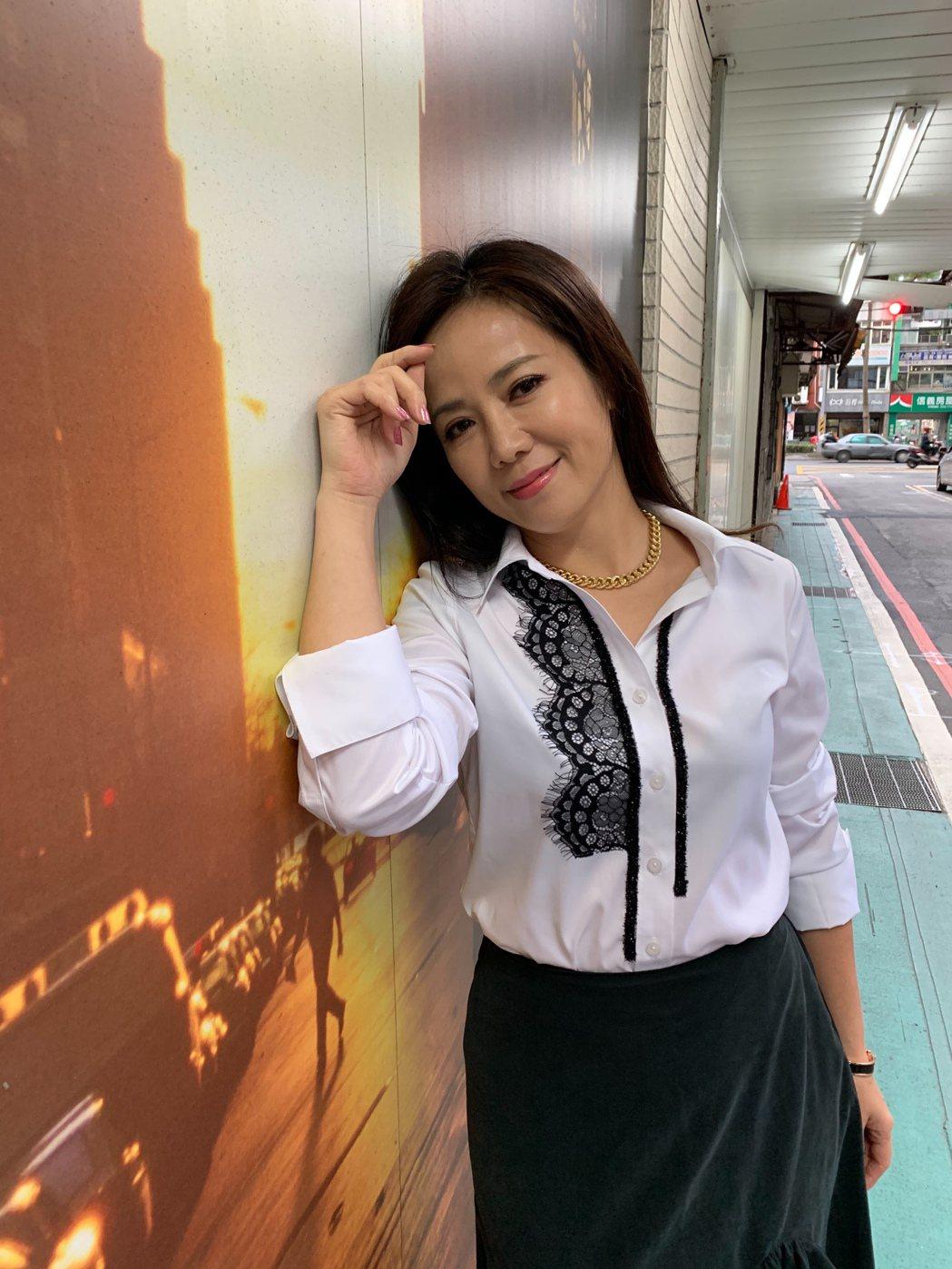 陳仙梅身為二寶媽,兒子們太活潑太皮,令她傷神。記者陳慧貞/攝影