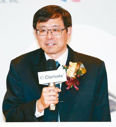 華碩共同執行長許先越   記者侯永全/攝影