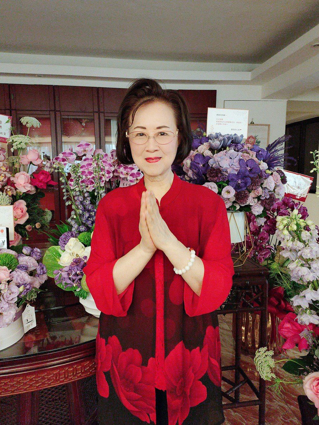 瓊瑤感謝粉絲祝賀她生日快樂。圖/摘自臉書