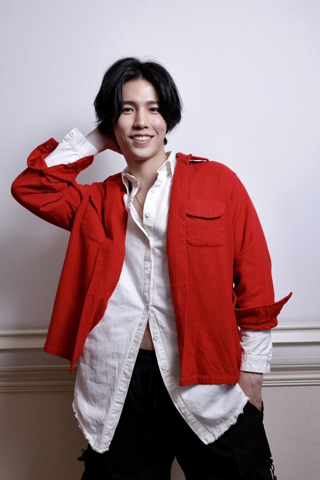 林瑞陽兒子林禹頗有大將之風,演出「戀愛是科學」受矚目。記者李政龍/攝影