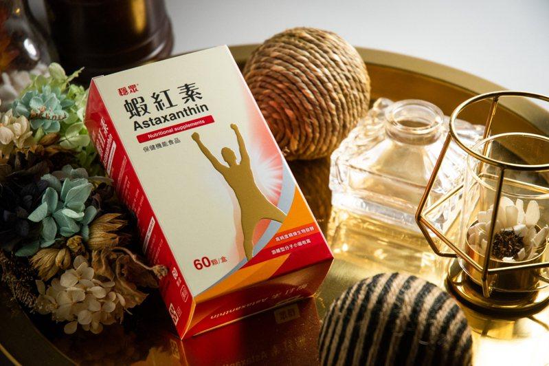 穩眾蝦紅素以微生物為原料,運用生物代謝工程的技術發酵精煉而成。圖/穩眾提供
