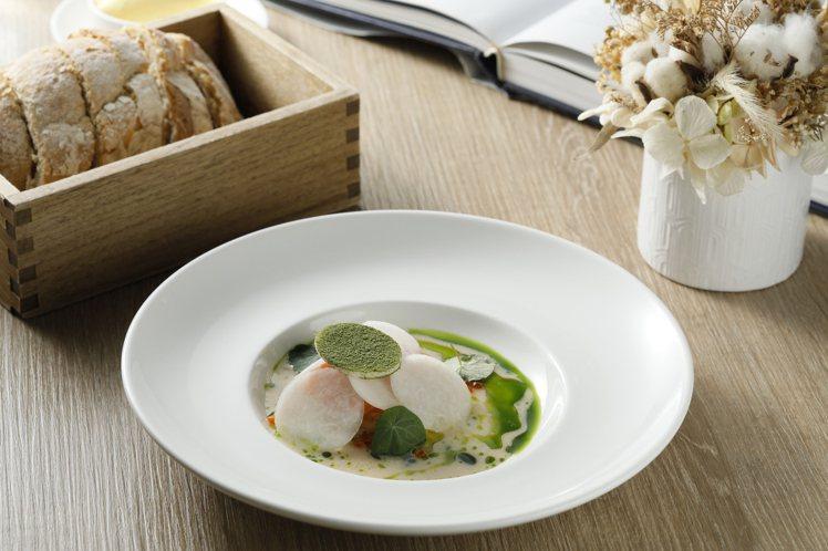 鮭魚・大頭菜・雪莉酒。圖/JE Kitchen提供