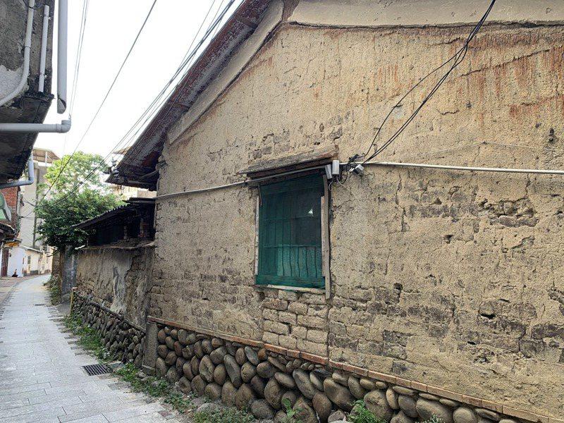 劉家老屋歷史最早可追溯至清乾隆年間,地基部分超過200年歷史。記者巫鴻瑋/攝影