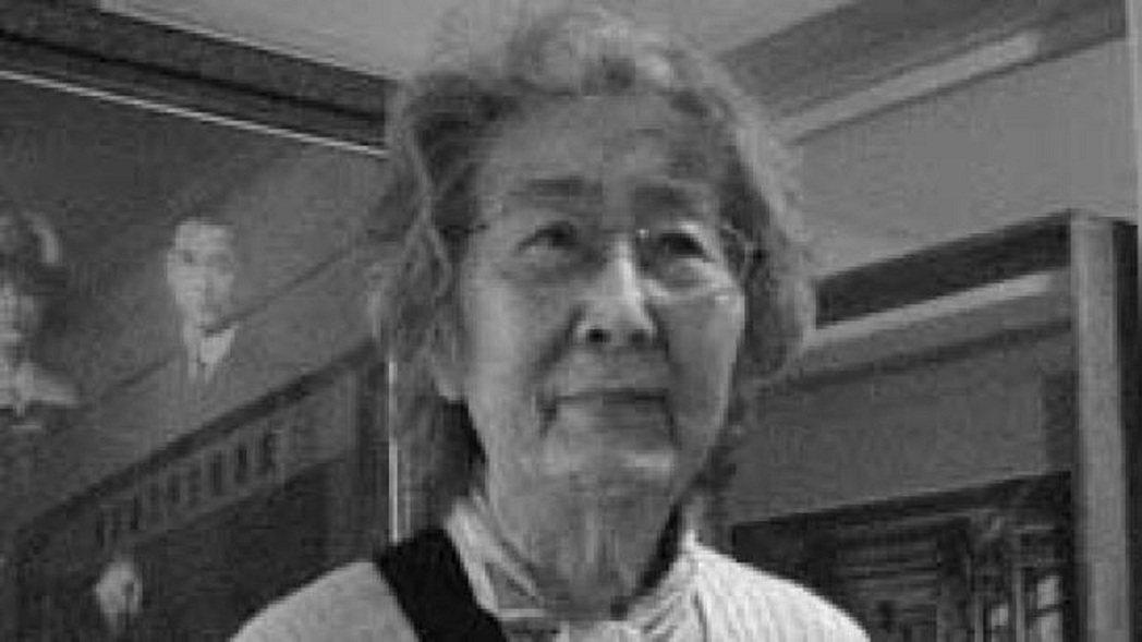 國父孫中山的孫女孫穗華加州逝世。(取自澎湃新聞)