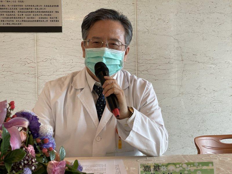 嘉義基督教醫院院長姚維仁表示牙科、糖尿病中心已成立共同照護治療。記者林伯驊/攝影