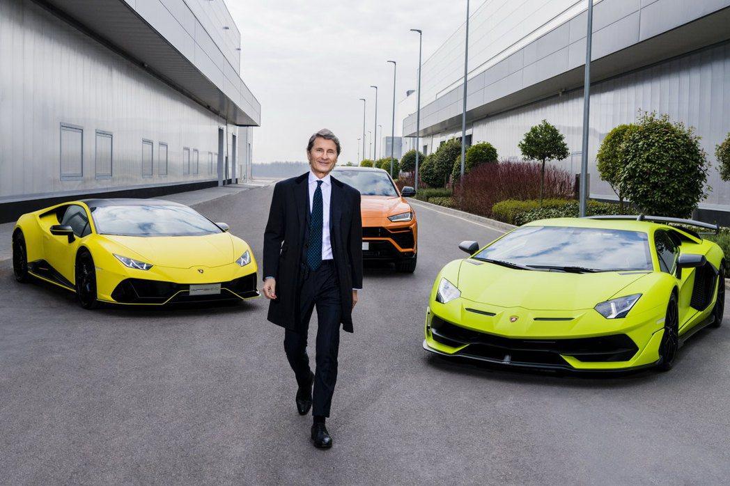 Lamborghini總裁兼執行長Stephan Winkelmann表示,公司...