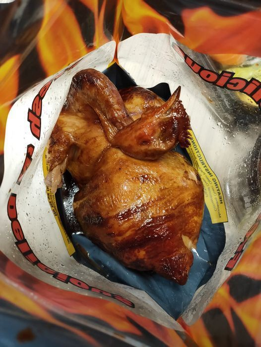 一名網友發文爆料在好市多購買的烤雞「翅膀飛走了」,貼文引起大票網友回覆。圖/取自Costco 好市多 商品經驗老實說