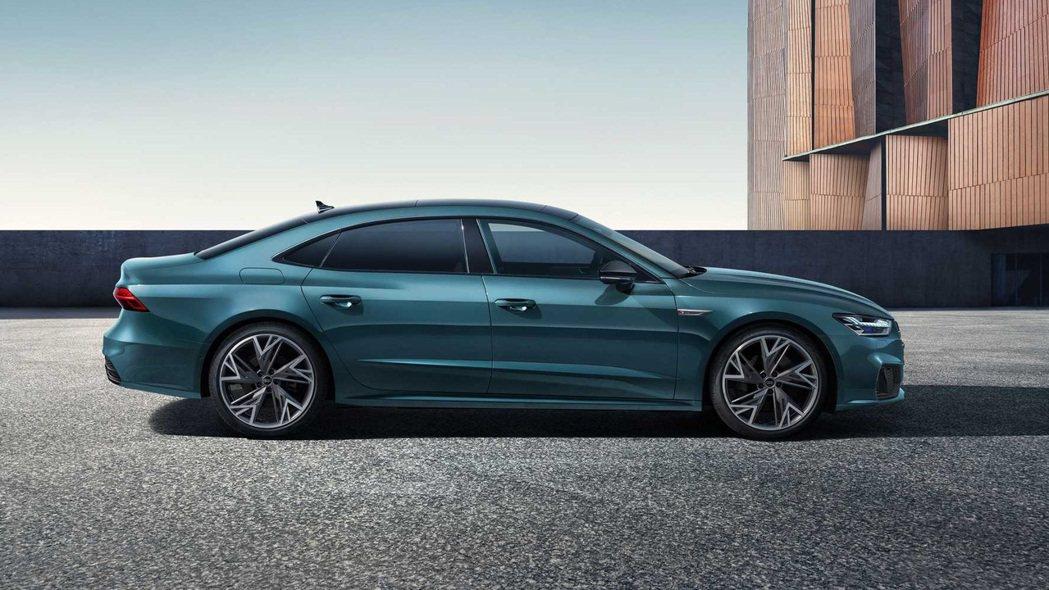 A7L軸距再加長98mm來到3,026mm。 摘自Audi