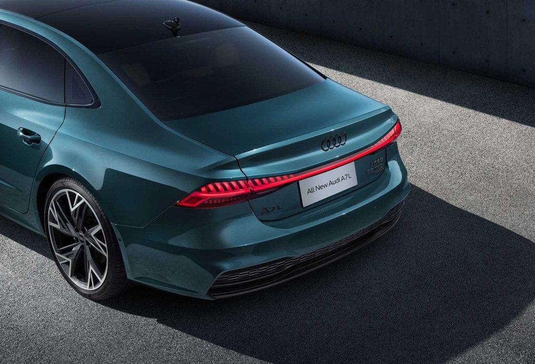 A7L將在中國生產銷售,僅限量1,000台。 摘自Audi