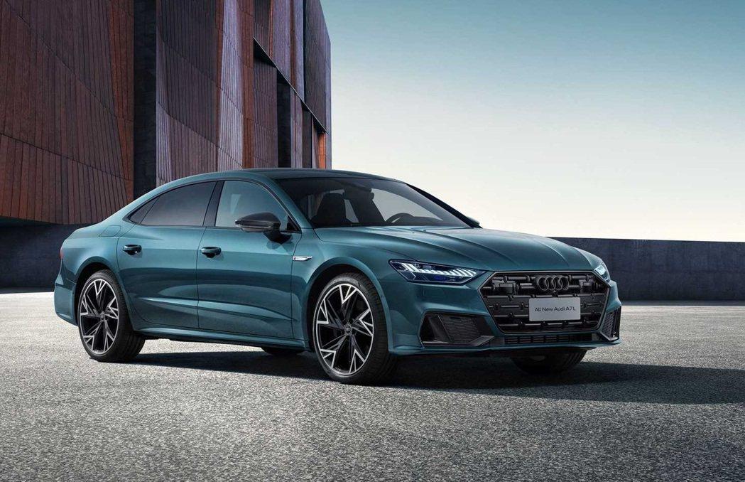 上汽奧迪A7L Sedan。 摘自Audi