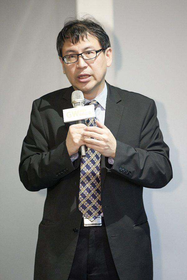 行政院能源及減碳辦公室副執行長林子倫 圖/陽光伏特家提供