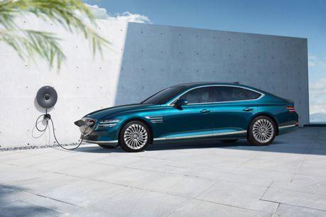2021上海車展/品牌成立六年首款電動車 Genesis G80豪華純電車正式登場!