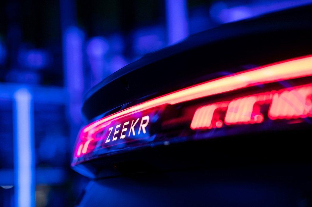 極氪Zeekr 001。 摘自吉利汽車