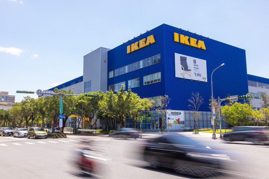 IKEA內湖店為舊建物翻新。圖/沈昱嘉攝影