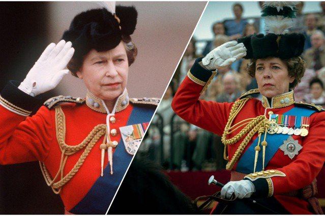 《王冠》遊走在史實與虛構之間,右圖為劇中飾演女王的Olivia Coleman。...