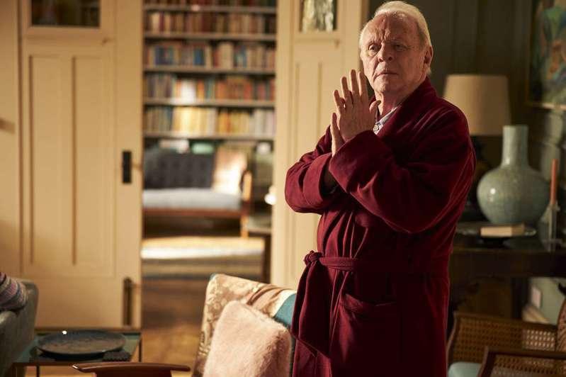 安東尼霍普金斯在《父親》中傳神演出失智者。圖╱采昌提供