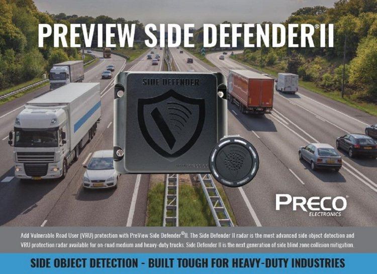 智慧型內輪差及側邊盲點偵測系統BSD,世界第一品牌PRECO盲點偵測雷達產品特色...