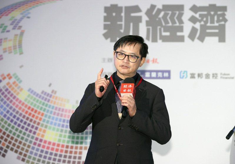和碩聯合科技董事長童子賢出席2021「大師智庫論壇」。記者林澔一/攝影