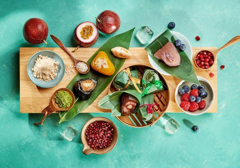 融入水果及甜品元素的冰心Q粽。