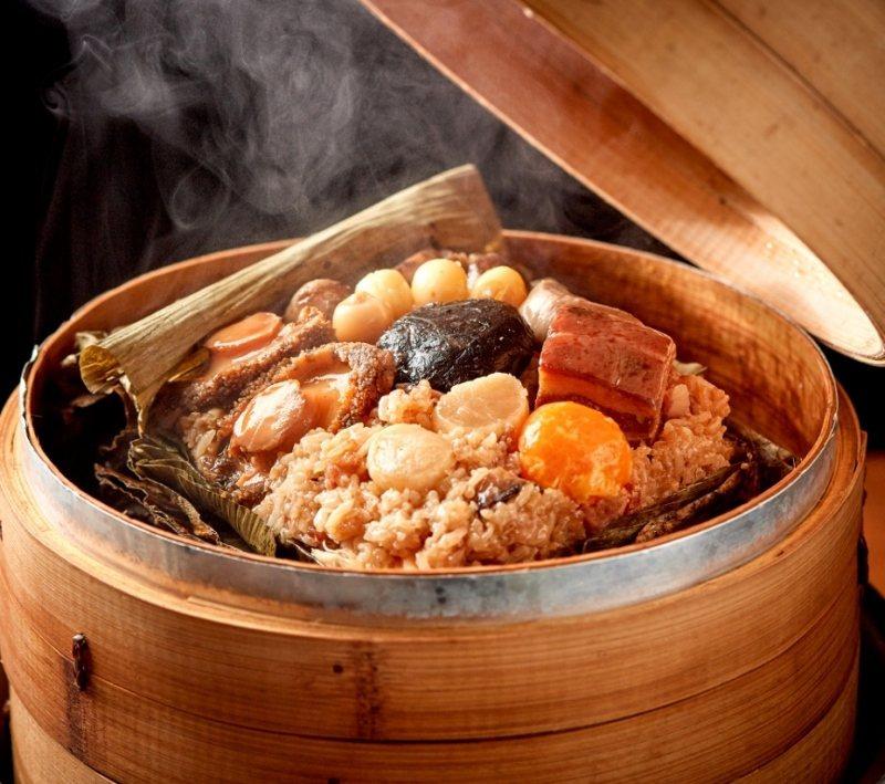 「鮑魚干貝及第八寶粽」2018年曾獲得媒體評比廣式粽亞軍,除了端午,也可以是考季...