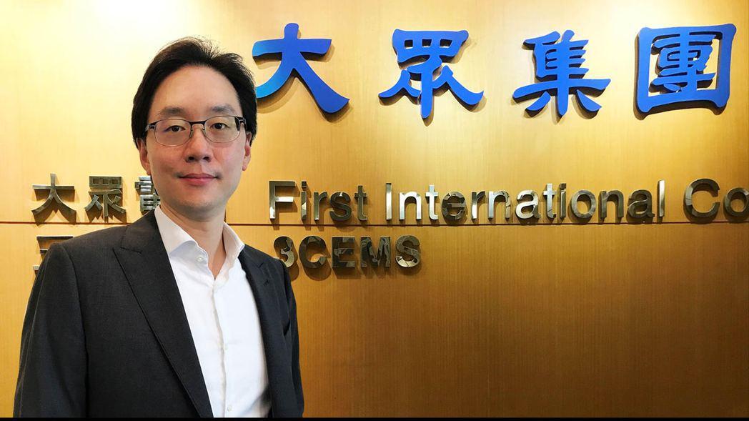 大眾投控總經理暨台灣綠電應用協會TARGET 常務理事簡民智。 業者/提供。