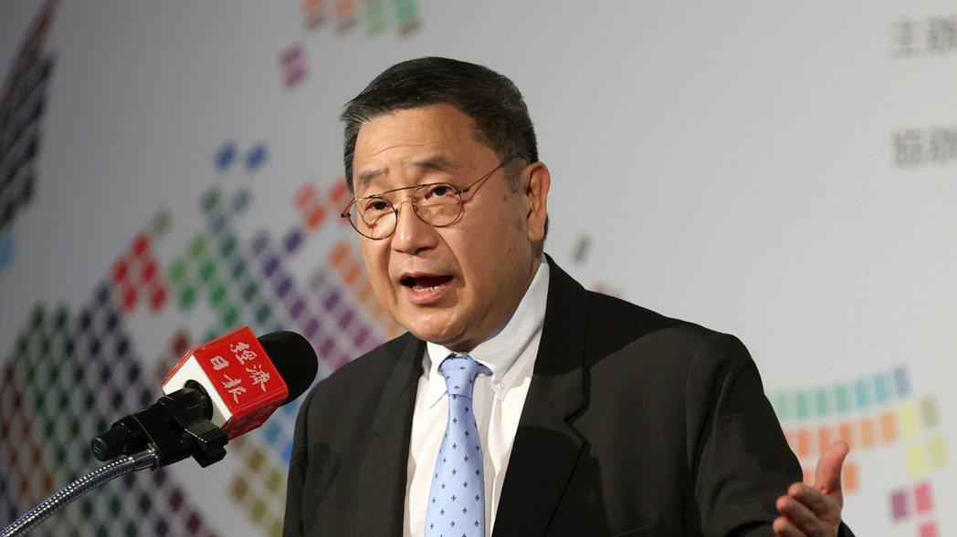 台泥企業團董事長張安平,出席2021「大師智庫論壇」發表專題演講。 報系資料庫