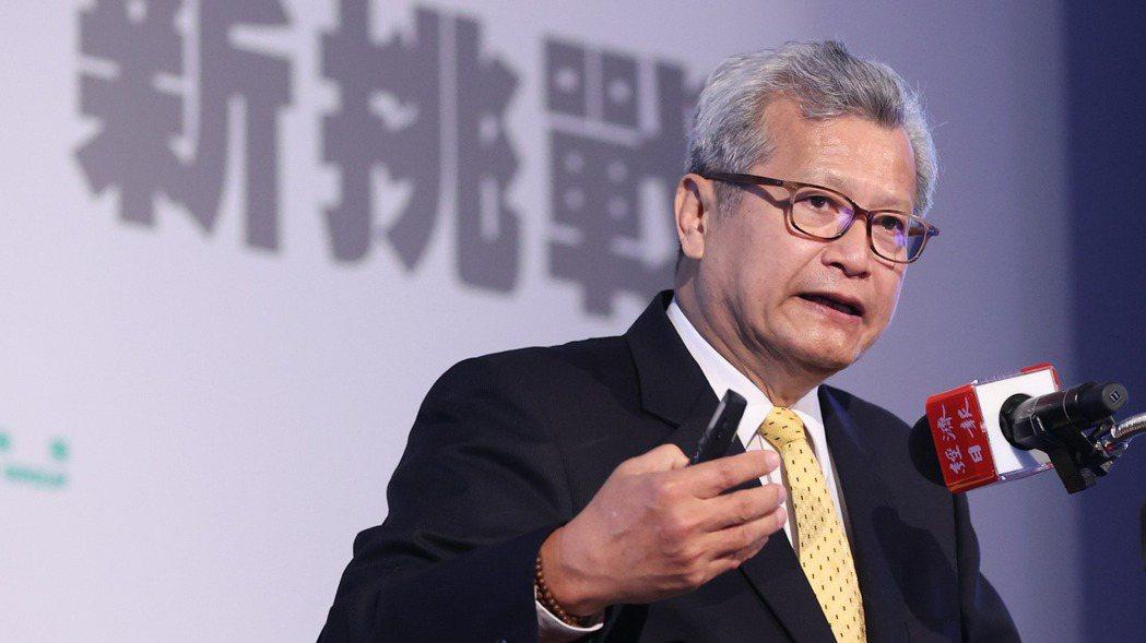 中鋼公司董事長翁朝棟,出席2021「大師智庫論壇」發表專題演講。 圖/報系資料照