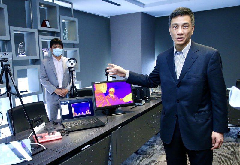 東元會長黃茂雄長子黃育仁同時也是菱光科技董事長。 報系資料照/記者林俊良攝影