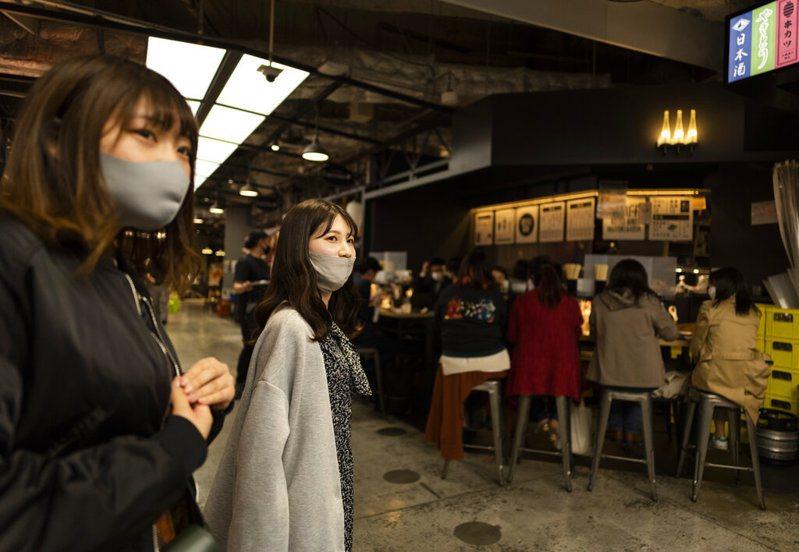 日本第4波疫情延燒,大阪1153例創週二新高。 美聯社