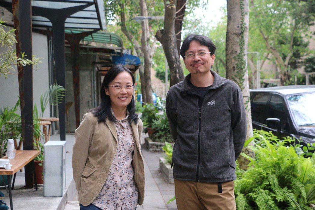 資深紀錄片導演謝欣志(右)、陳芝安(左)拍攝台灣首部以網紅為主角的紀錄片「為寂寞...