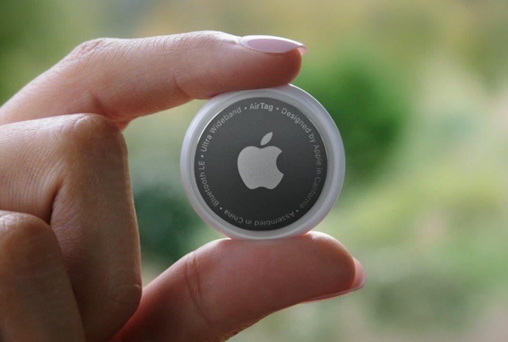 蘋果發表AirTag。圖/網路照片